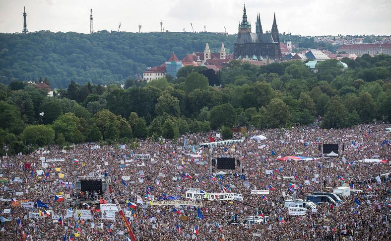 Protesty w Pradze