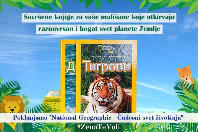 "Za troje najbržih pripremili smo ""National Geographic i čudesni svet životinja"""
