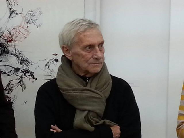 Vladimir Veličković na otvaranju u Nišu