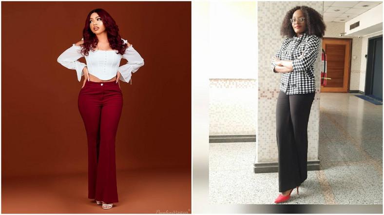 Reality TV star, Nengi Thompson and the new face of Bayelsa Girl Child, Blessing Eradiri [Instagram/NengiOfficial] [Instagram/MissEradiri]