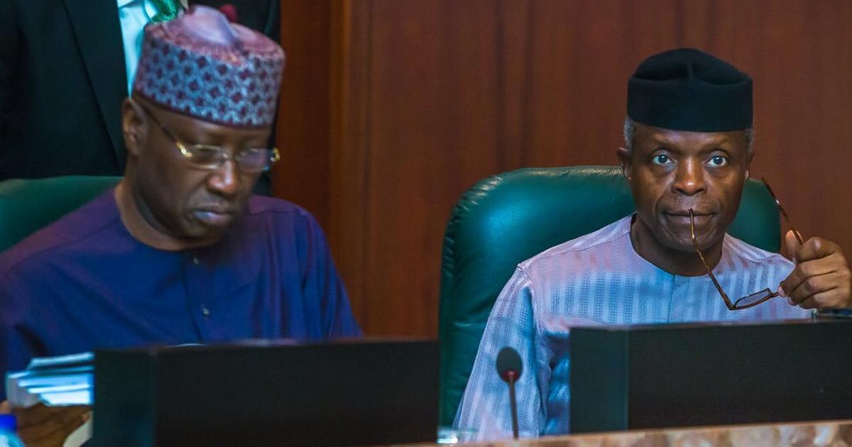 Osinbajo presides over NEC meeting as Buhari makes trip to Kaduna