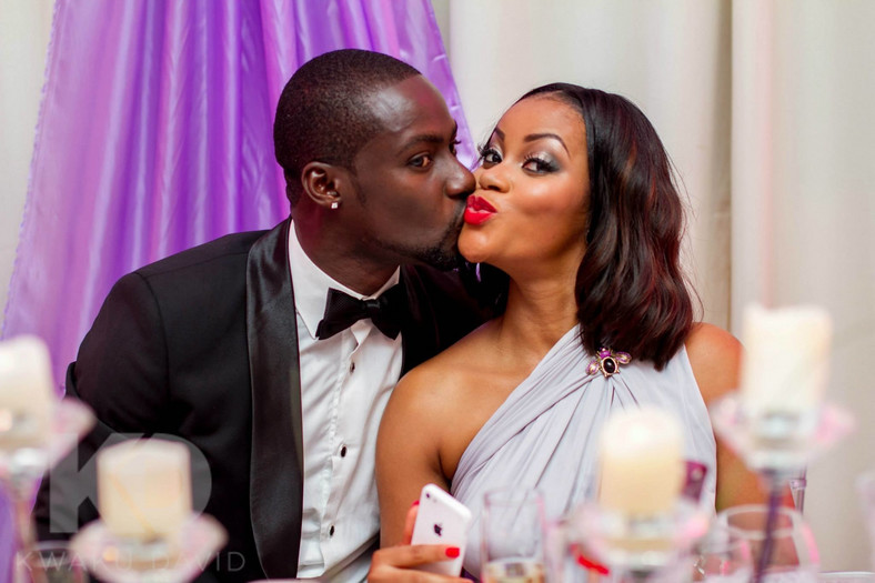 Chris Attoh and his ex-wife Damilola Adegbeti