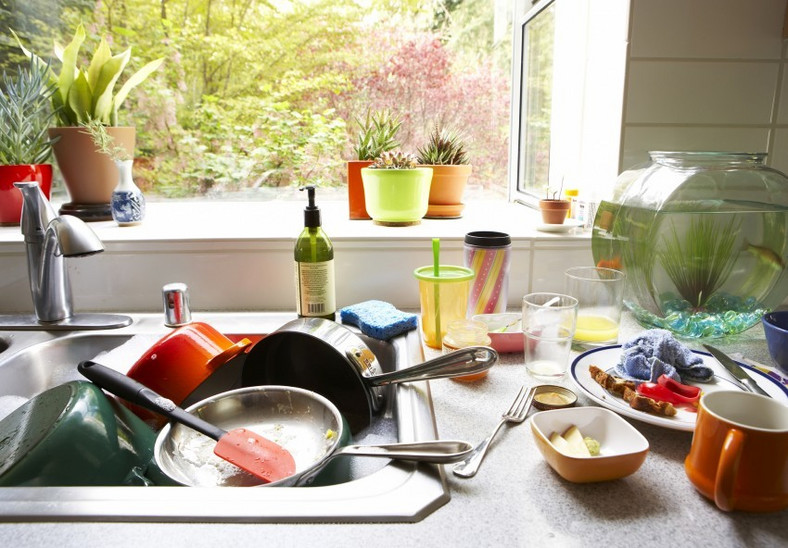 Keep kitchen clean(apartmentguide)