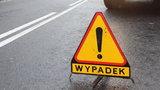 Wypadek pod Wieruszowem. Siedem osób rannych, wśród nich dzieci