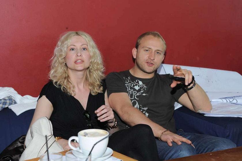 Borys Szyc i Anna Bareja