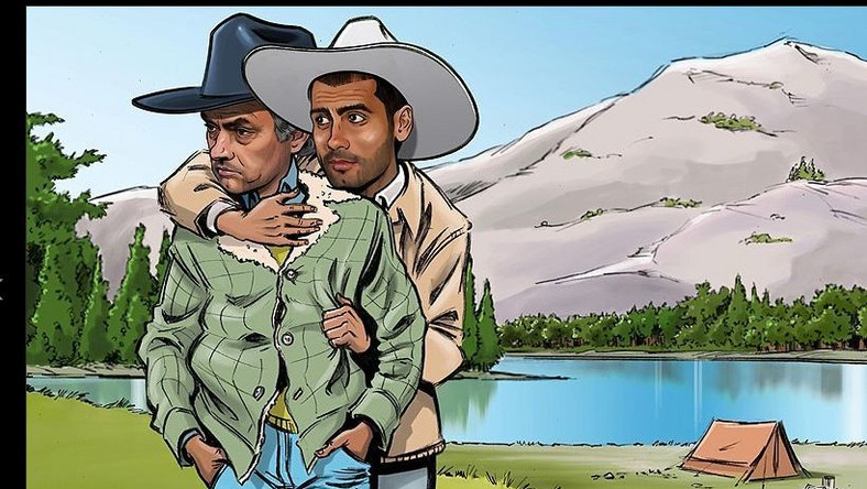 Jose Mourinho i Pep Guradiola