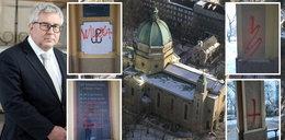 Znana warszawska świątynia wysmarowana farbą. Europoseł nagłośnił to na Twitterze, a internauci zaczęli snuć domysły