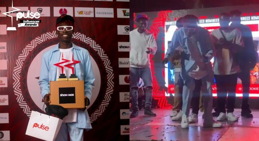 Comedian Made In Ghana grabs two awards at Pulse Influencer Awards