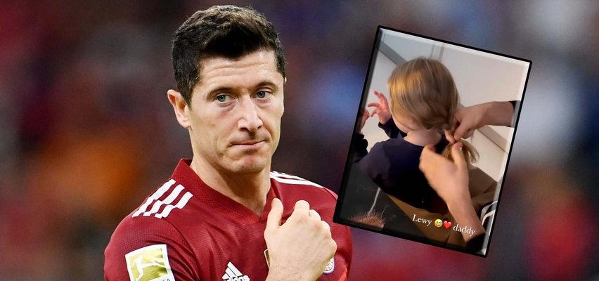 Lewandowski tym talentem jeszcze się nie chwalił. Jego córki są zachwycone