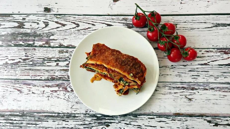 Lasagne bez mięsa. Nikt się nie zorientuje, że go brak!
