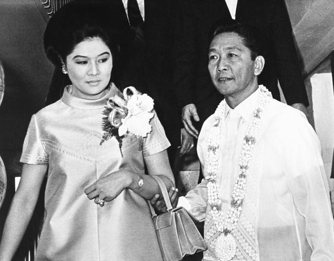 Imelda i Ferdinand Markos 1966. u danima kada im je politička akrijera bila na vrhuncu
