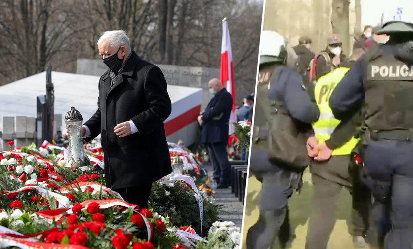 Obchody 11. rocznicy katastrofy smoleńskiej w cieniu zamieszek w stolicy.