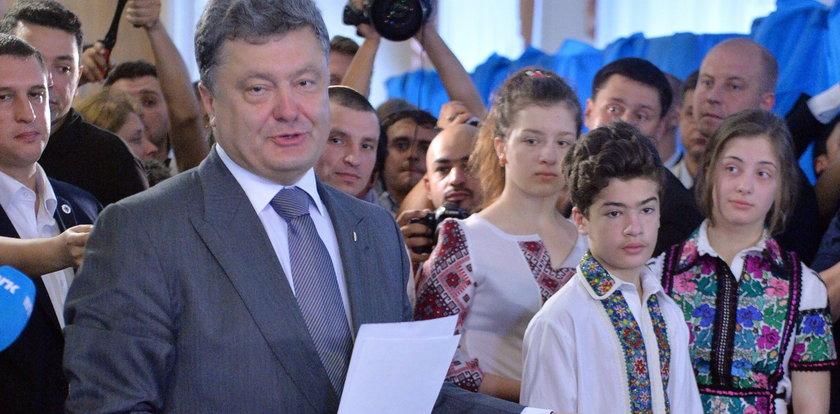 Koniec wyborów prezydenckich na Ukrainie