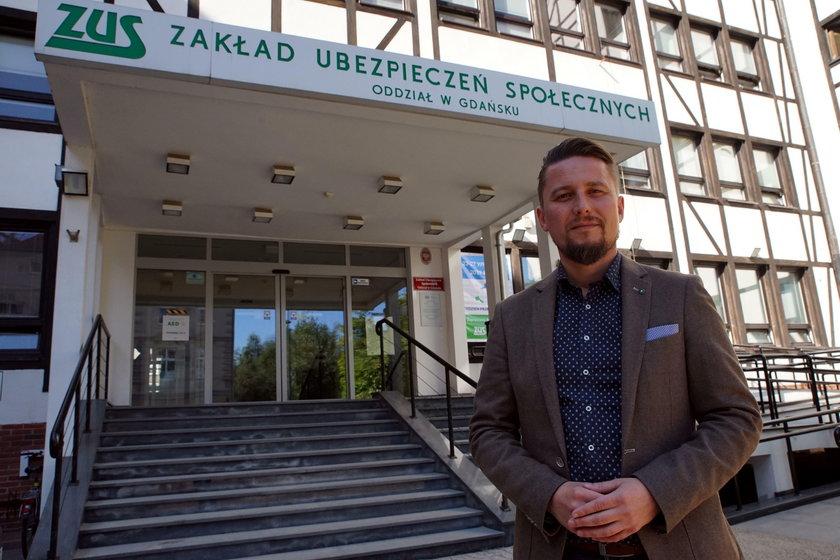 Krzysztof Cieszyński z ZUS będzie dyżurował w Fakcie