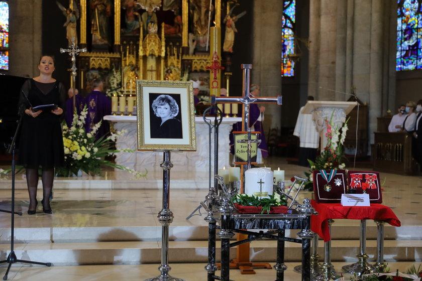 Pogrzeb Teresy Żylis-Gary w łódzkiej katedrze