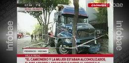 Tragedia na drodze. Zginął policjant z synem