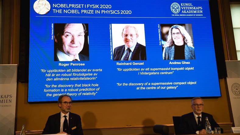 Laureaci nagrody Nobla w dziedzinie fizyki