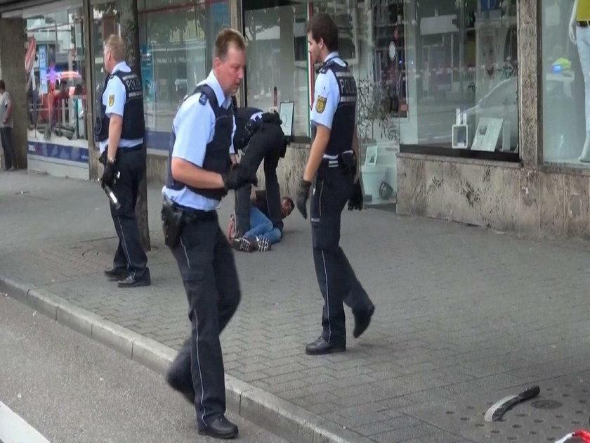 Policja na miejscu zbrodni