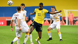 Sweden's Alexander Isak is one of Europe's most exciting young strikers Creator: Jonathan NACKSTRAND