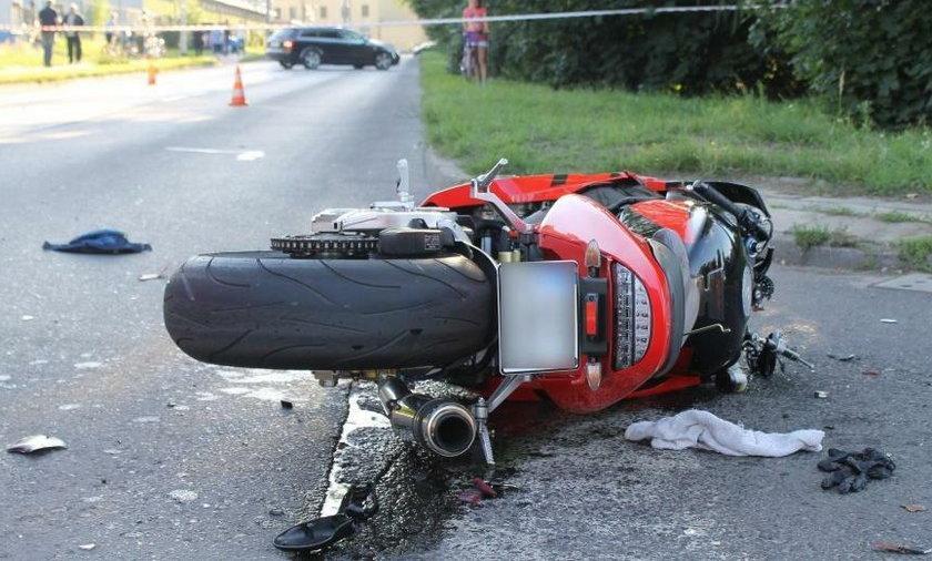 Tragedia w Zielonce pod Warszawą. Zginęła motocyklistka