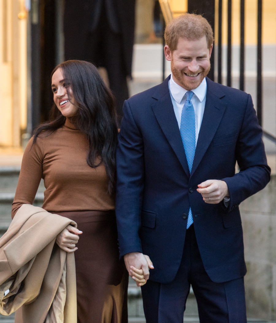 Meghan Markle i książę Harry / Samir Hussein GettyImages