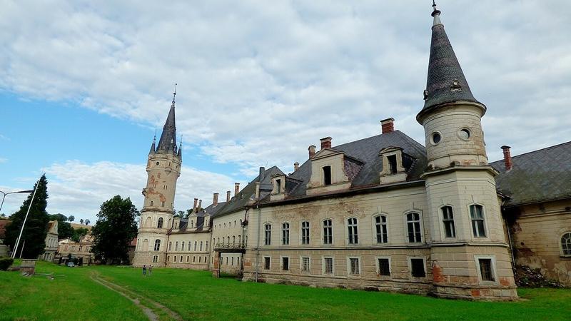 Pałac w Bożkowie na Dolnym Śląsku