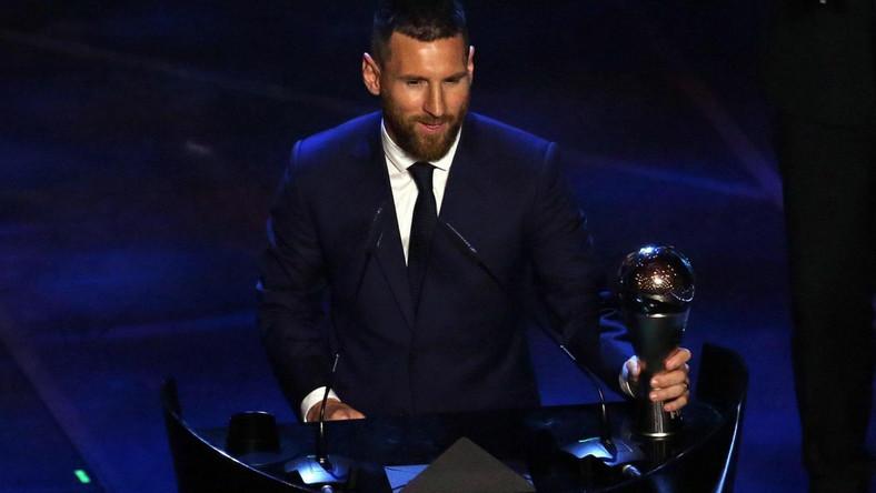 Leo Messi odebrał nagrodę na gali w Mediolanie