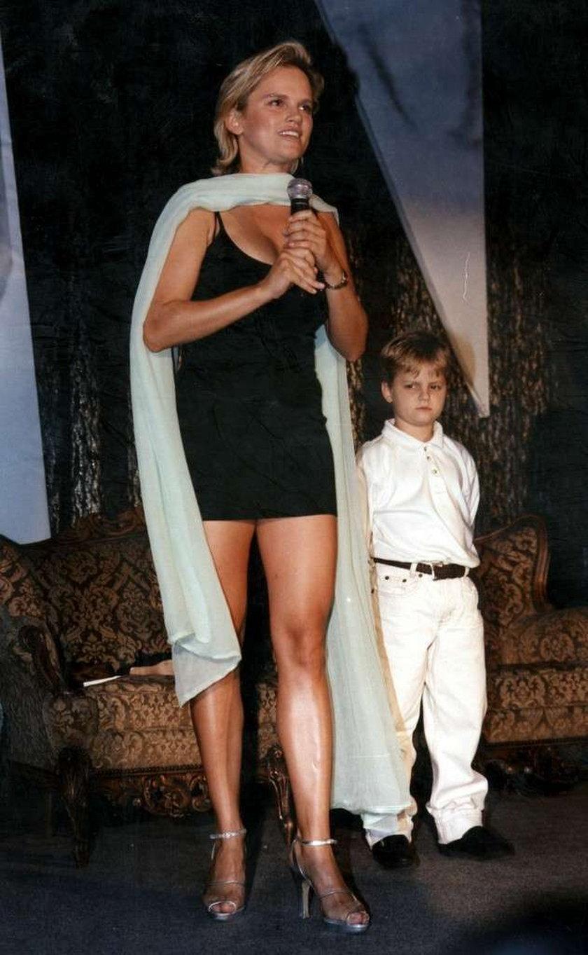 katyrzyna figura z synem