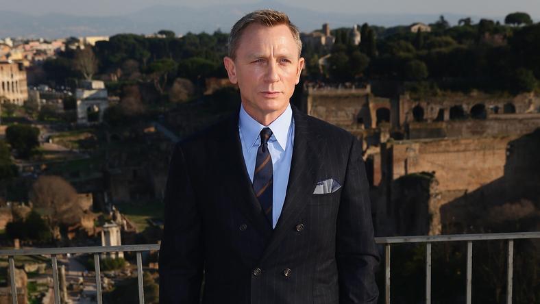 "Daniel Craig na planie ""Spectre"""