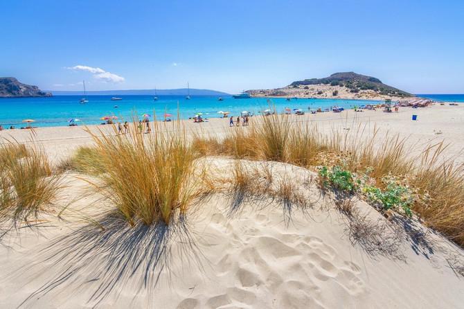 Plaža Simos na Peloponezu