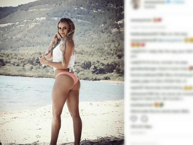 Njenim oblinama se divi PET MILIONA ljudi: Vrela Ana zbog JEDNOG DETALJA vlada Instagramom