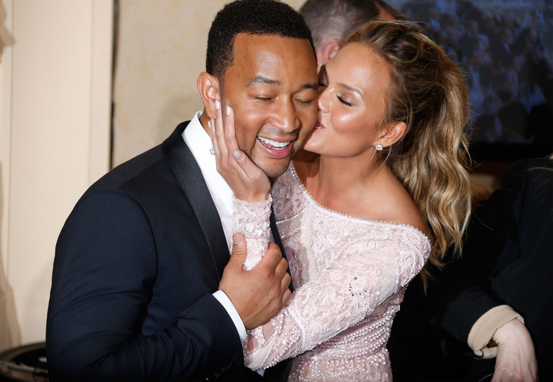 If your partner likes physical touch, you may have to do a lot of it like Chrissy Teigen and John Legend. [Credit Getty]
