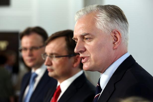 Jarosław Gowin, PAP/Tomasz Gzell