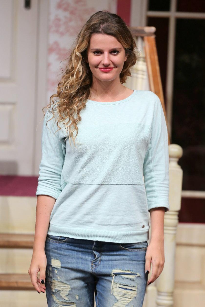 Zofia Zborowska w teatrze
