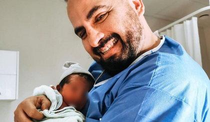 53-letni Augustin Egurrola został po raz drugi ojcem