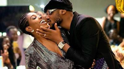 'I know I'm not without mistakes' - 2Face Idibia says as he shares loved up photos with wife Annie