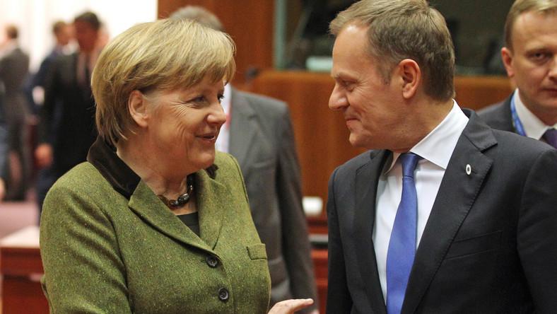 Premier uczył Angelę Merkel wymowy nazwisk przodw