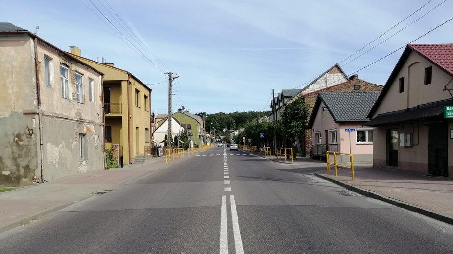 Współczesny widok Izbicy, miasteczka, które przed wojną było w 95 proc. żydowskie