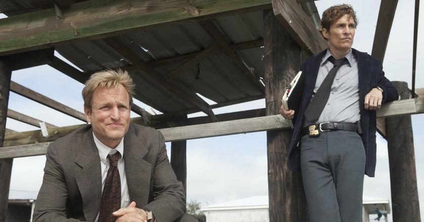 "Woody Harrelson i Matthew McConaughey w serialu ""Detektyw"""