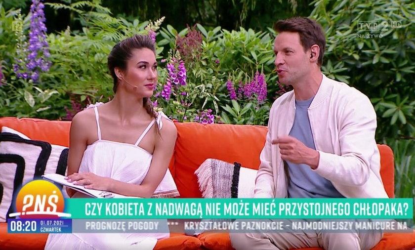 Ida Nowakowska i Tomasz Wolny.