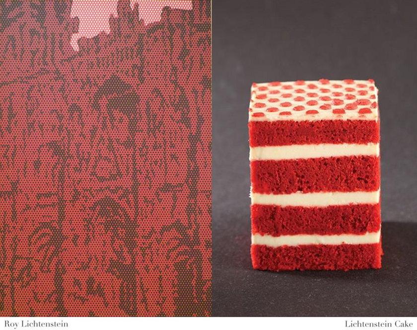 Roy Lichtenstein i Lichtenstein Cake
