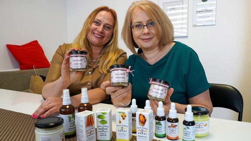 Monika i Marta Górskie od kilku lat wspólnie prowadzą firmę.