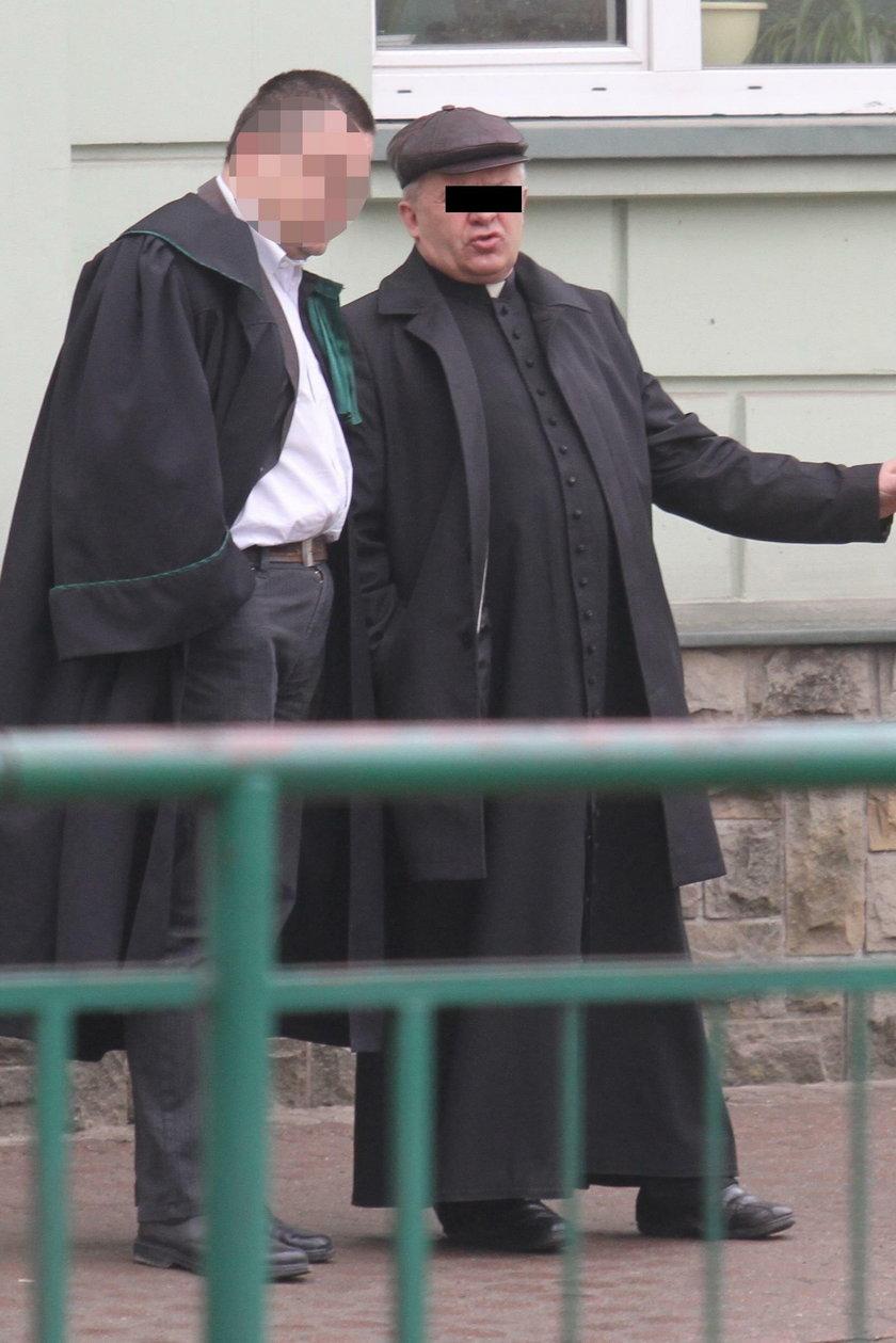 Były proboszcz z Hłudna ponownie stanął przed sądem