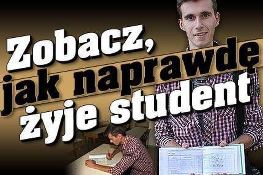 Zobacz, jak naprawdę żyje student