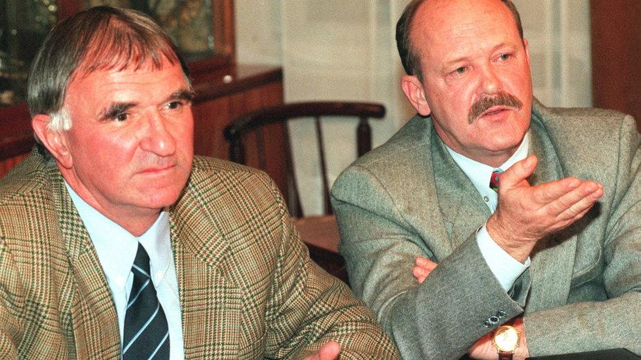 Antoni Piechniczek i Władysław Stachurski