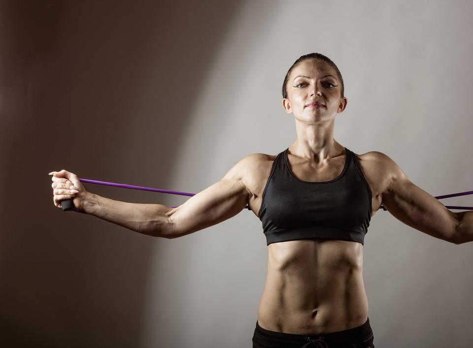 Jak ujędrnić biust - ćwiczenie 4.