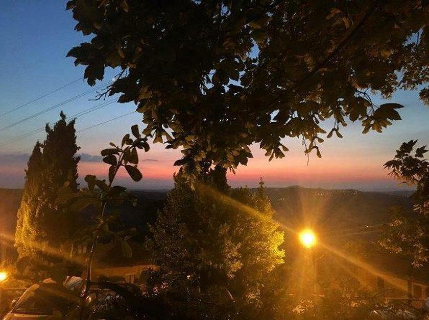 Edyta Herbuś w Toskanii