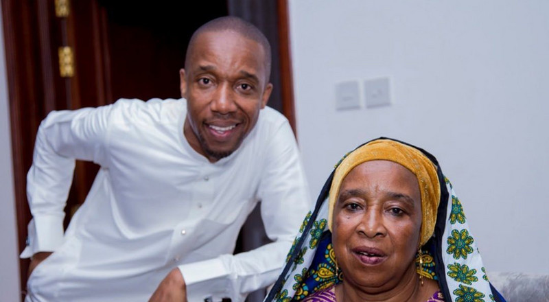 Take heart and be strong - Rashid Abdalla's prayer for ailing mother