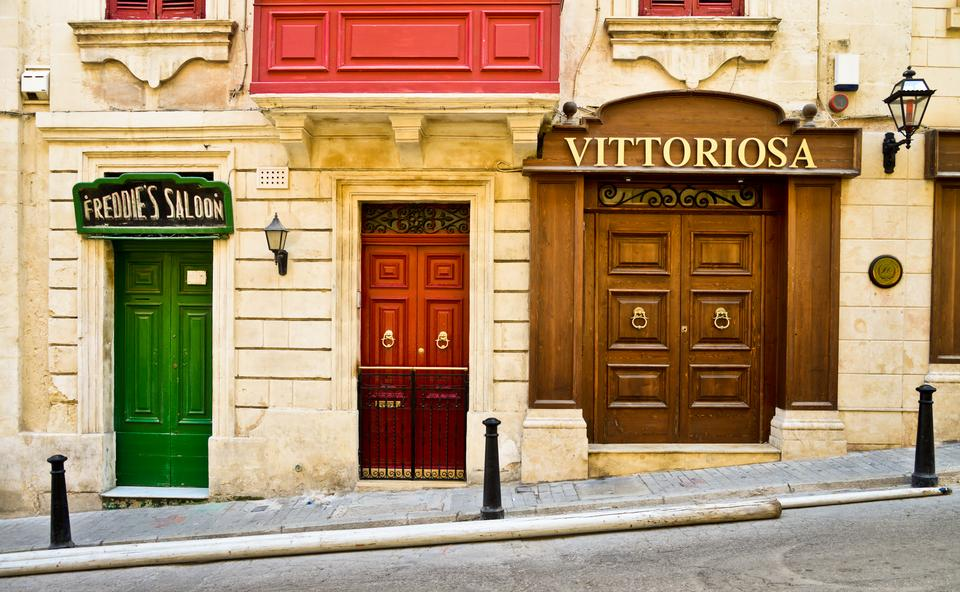 VITTORIOSA - malownicze portowe miasto na Malcie położone naprzeciwko Valletty