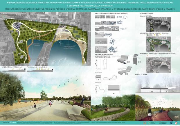 Wizualizacja zalewu Bagry